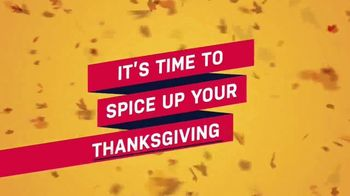 Food Network Kitchen App TV Spot, 'Spice Up Your Thanksgiving' - Thumbnail 1