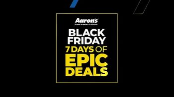 Aaron's Black Friday 7 Days of Epic Deals TV Spot, 'Gira la rueda' [Spanish]