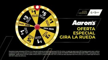 Aaron's Black Friday 7 Days of Epic Deals TV Spot, 'Gira la rueda' [Spanish] - Thumbnail 5