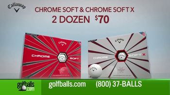 Golfballs.com TV Spot, 'Give the Gift of Golf: Titleist, Callaway & Taylormade'