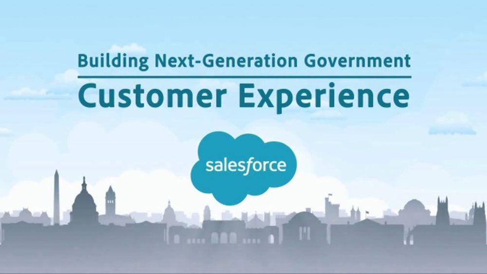 Salesforce TV Commercial, 'Building Next-Generation Government'