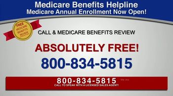 Medicare Benefits Helpline TV Spot, 'Additional Benefits: Hearing Aids, Glasses, Meal Delivery' - Thumbnail 4