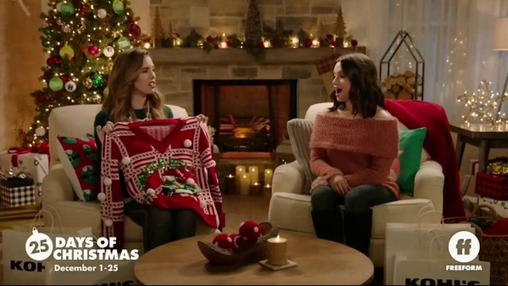 Freeform - 25 Days Of Christmas 2020 Commercial Kohl's TV Commercial, 'Freeform: Snuggle Season' Featuring Christy