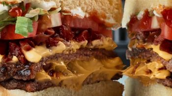 Checkers & Rally's Bacon & Cheese Loaded Burger TV Spot, 'A Delicious Secret' - Thumbnail 7