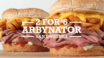 Arby's 2 for $6 Arbynator TV Spot, 'Behold'