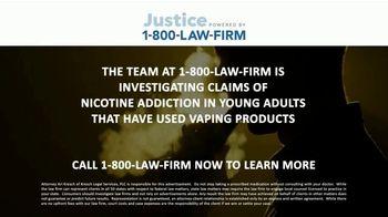 1-800-LAW-FIRM TV Spot, 'Nicotine Addiction' - Thumbnail 2