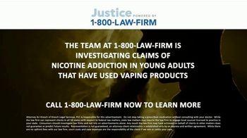 1-800-LAW-FIRM TV Spot, 'Nicotine Addiction' - Thumbnail 3