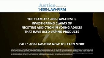 1-800-LAW-FIRM TV Spot, 'Nicotine Addiction' - Thumbnail 4