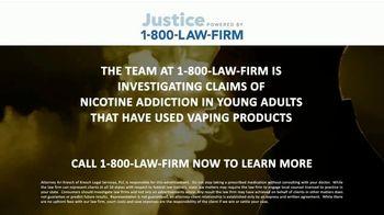 1-800-LAW-FIRM TV Spot, 'Nicotine Addiction' - Thumbnail 5