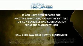 1-800-LAW-FIRM TV Spot, 'Nicotine Addiction' - Thumbnail 7