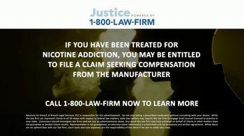 1-800-LAW-FIRM TV Spot, 'Nicotine Addiction' - Thumbnail 9
