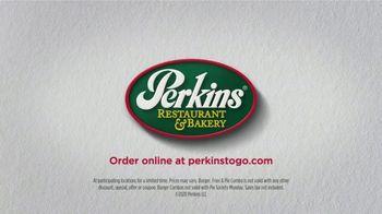 Perkins Restaurant & Bakery Burger, Fries & Pie TV Spot, 'It's Back' - Thumbnail 8