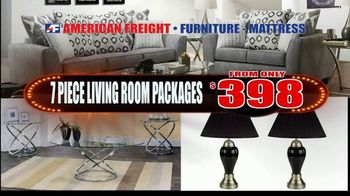 American Freight TV Spot, 'Everything Must Go: Bedrooms, Living and Dining Rooms' - Thumbnail 5