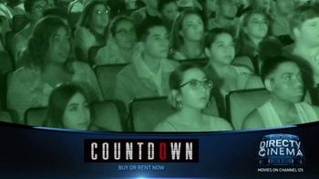 DIRECTV Cinema TV Spot, 'Countdown' - Thumbnail 1