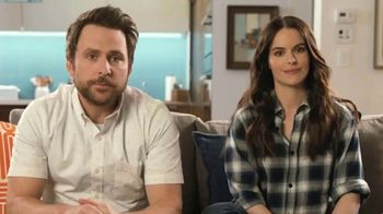 Tide Super Bowl 2020 Teaser, 'Charlie Day & Emily Hampshire's Dirty Laundry' - Thumbnail 1