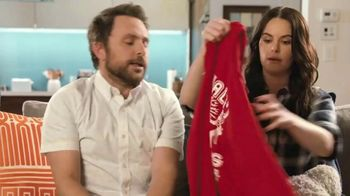 Tide Super Bowl 2020 Teaser, 'Charlie Day & Emily Hampshire's Dirty Laundry' - Thumbnail 8