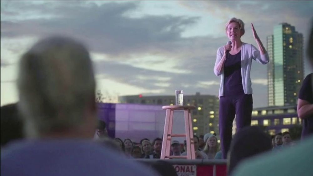 Warren for President TV Commercial, 'Fears Her the Most'