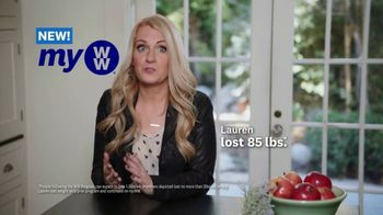 myWW TV Spot, 'Lauren: Lose 10 Pounds' Song by Spencer Ludwig - Thumbnail 2