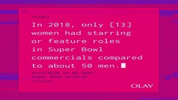 Olay Super Bowl 2020 Teaser, 'Make Space For Women'