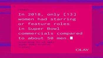 Olay Super Bowl 2020 Teaser, 'Make Space For Women'