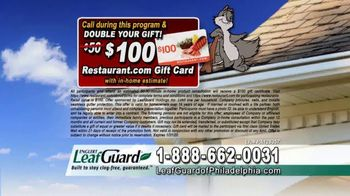 LeafGuard of Philadelphia 99 Cent Install Sale TV Spot, 'What's In Your Gutters' - Thumbnail 8