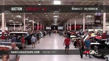 GAA Classic Cars Auction TV Spot, '2020 Greensboro'