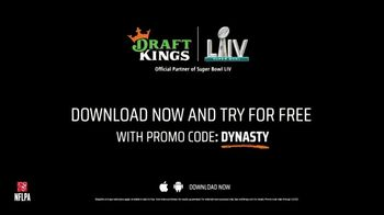 DraftKings TV Spot, 'Royalty Is Earned: Super Bowl LIV: Free' Featuring Nate Burleson - Thumbnail 10