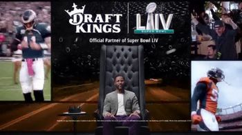 DraftKings TV Spot, 'Royalty Is Earned: Super Bowl LIV: Free' Featuring Nate Burleson - Thumbnail 5