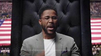 DraftKings TV Spot, 'Royalty Is Earned: Super Bowl LIV: Free' Featuring Nate Burleson - Thumbnail 6