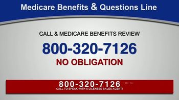 Medicare Benefits & Questions Line TV Spot, 'Anyone on Medicare: Additional Benefits' - Thumbnail 8