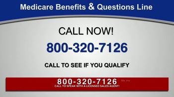 Medicare Benefits & Questions Line TV Spot, 'Anyone on Medicare: Additional Benefits' - Thumbnail 1
