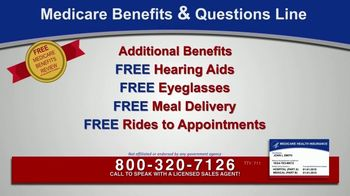 Medicare Benefits & Questions Line TV Spot, 'Anyone on Medicare: Additional Benefits' - Thumbnail 3
