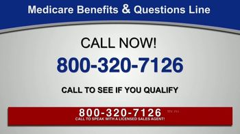 Medicare Benefits & Questions Line TV Spot, 'Anyone on Medicare: Additional Benefits' - Thumbnail 4