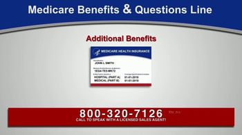 Medicare Benefits & Questions Line TV Spot, 'Anyone on Medicare: Additional Benefits' - Thumbnail 5