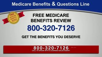 Medicare Benefits & Questions Line TV Spot, 'Anyone on Medicare: Additional Benefits' - Thumbnail 6