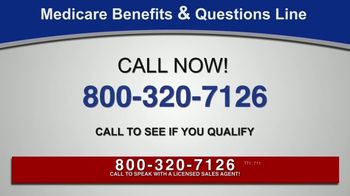 Medicare Benefits & Questions Line TV Spot, 'Anyone on Medicare: Additional Benefits' - Thumbnail 7
