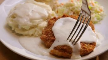 KFC Wednesday Special TV Spot, 'Chicken Fried Steak Meal' - Thumbnail 4