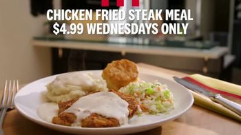 KFC Wednesday Special TV Spot, 'Chicken Fried Steak Meal' - Thumbnail 9