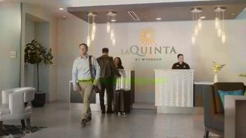 La Quinta Inns and Suites TV Spot, 'Tonight La Quinta, Tomorrow You Triumph: Pumped' - Thumbnail 5