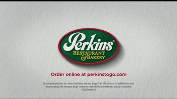 Perkins Burger, Fries & Pie Combo TV Spot, 'Bring the Pie First: $9.99' - Thumbnail 9