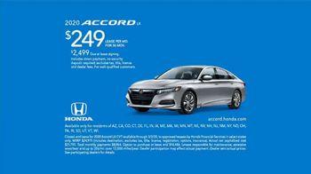 2020 Honda Accord TV Spot, 'Turning Points' [T2] - Thumbnail 8
