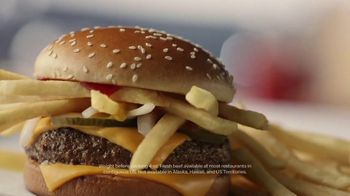 McDonald's Quarter Pounder TV Spot, 'Perfect Made Perfecter: French Fries' - Thumbnail 4