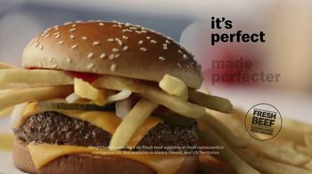 McDonald's Quarter Pounder TV Spot, 'Perfect Made Perfecter: French Fries' - Thumbnail 6