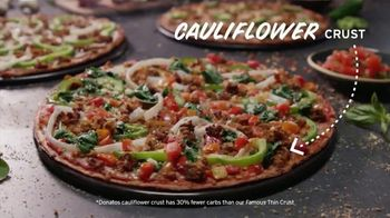 Donatos Cauliflower Crust Pizzas TV Spot, 'Punked' - Thumbnail 3