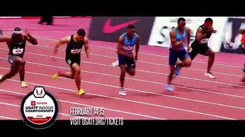 USA Track & Field, Inc. TV Spot, '2020 Indoor Championships Tickets'