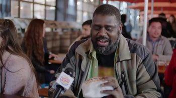 Burger King Cheddar Bacon King TV Spot, 'Real Cheddar' - Thumbnail 1