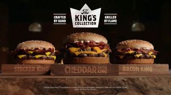Burger King Cheddar Bacon King TV Spot, 'Real Cheddar' - Thumbnail 10