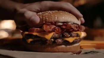 Burger King Cheddar Bacon King TV Spot, 'Real Cheddar' - Thumbnail 8
