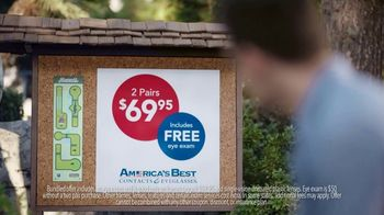 America's Best Contacts and Eyeglasses TV Spot, 'Birdie' - Thumbnail 4