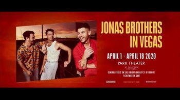 Jonas Brothers in Vegas TV Spot, '2020 Las Vegas: Park Theater' - Thumbnail 10